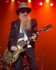 ZZ Topのギタリスト、ビリー・ギボンズ
